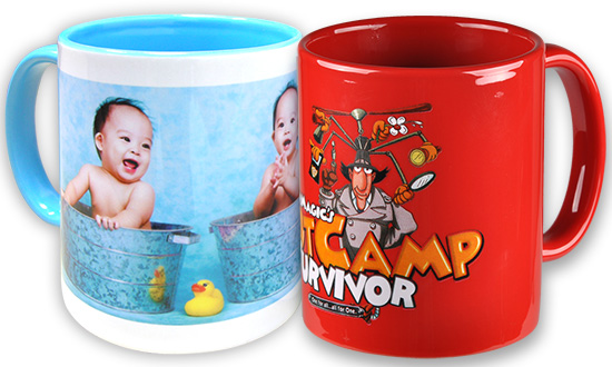 toner and sublimation mugs